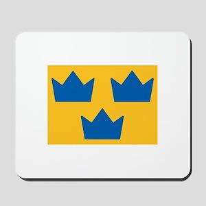 Sweden Hockey Logo Mousepad