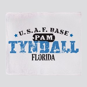 Tyndall Air Force Base Throw Blanket