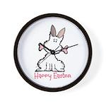 Dog Easter Wall Clock