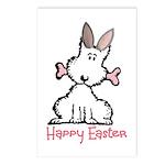 Dog Easter Postcards (Package of 8)