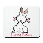 Dog Easter Mousepad