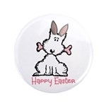 """Dog Easter 3.5"""" Button (100 pack)"""