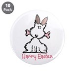 """Dog Easter 3.5"""" Button (10 pack)"""