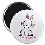 """Dog Easter 2.25"""" Magnet (100 pack)"""