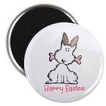 """Dog Easter 2.25"""" Magnet (10 pack)"""