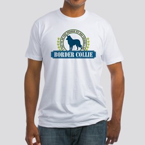 Border Collie Fitted T-Shirt