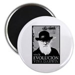 Viva Darwin Evolucion Magnet