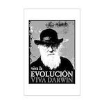 Viva Darwin Evolucion Mini Poster Print