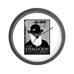 Viva Darwin Evolucion Wall Clock