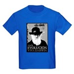 Viva Darwin Evolucion Kids Dark T-Shirt
