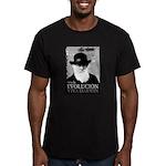 Viva Darwin Evolucion Men's Fitted T-Shirt (dark)