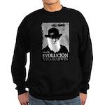 Viva Darwin Evolucion Sweatshirt (dark)