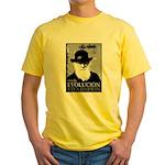 Viva Darwin Evolucion Yellow T-Shirt