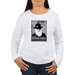 Viva Darwin Evolucion Women's Long Sleeve T-Shirt