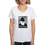 Viva Darwin Evolucion Women's V-Neck T-Shirt