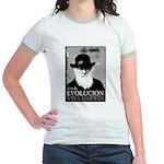 Viva Darwin Evolucion Jr. Ringer T-Shirt