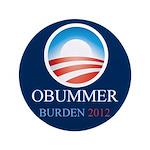 """Obummer Burden 3.5"""" Button (100 pack)"""