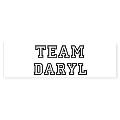 Team Daryl Bumper Sticker