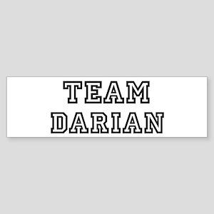 Team Darian Bumper Sticker