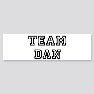 Team Dan Bumper Sticker