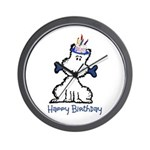 Dog Birthday Wall Clock