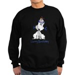 Dog Birthday Sweatshirt (dark)