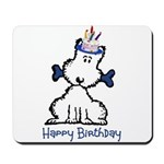 Dog Birthday Mousepad