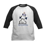 Dog Birthday Kids Baseball Jersey