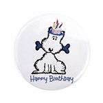 "Dog Birthday 3.5"" Button (100 pack)"