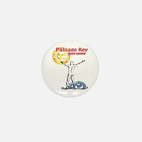 Cool Naturist Mini Button