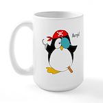 Pirate Penguin Large Mug