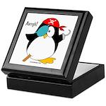 Pirate Penguin Keepsake Box