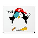 Pirate Penguin Mousepad