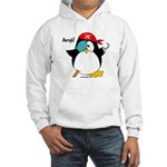 Pirate Penguin Hooded Sweatshirt
