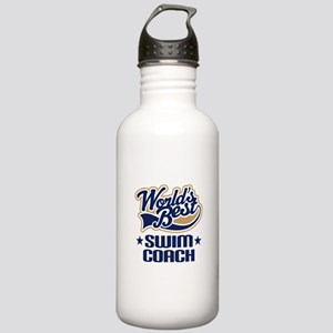 Swim Coach Stainless Water Bottle 1.0L