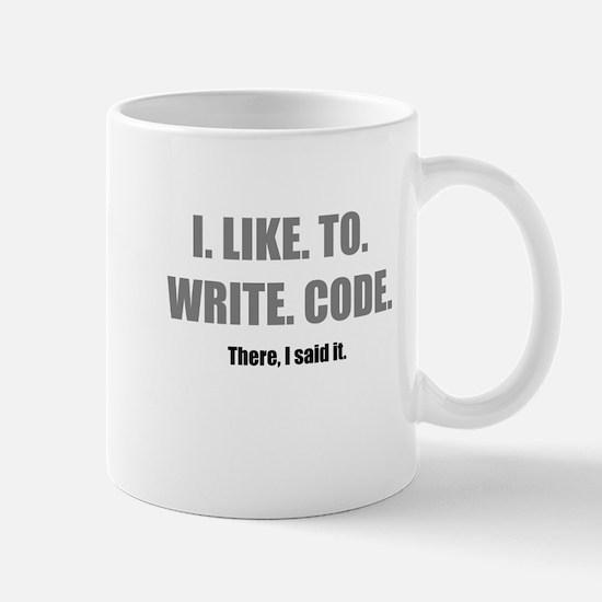 I LIKE TO WRITE CODE Mug