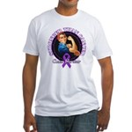 Stronger Than Cancer Fitted T-Shirt