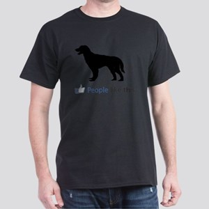 German Longhaired Pointer Dark T-Shirt