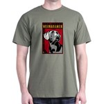 Obey the Weimaraner! Dictator Dark T-Shirt