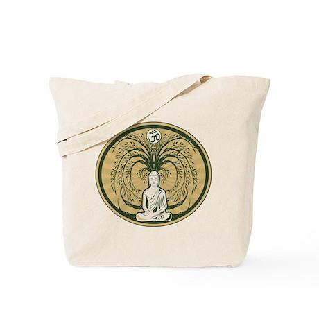 Buddha and the Bodhi Tree Tote Bag
