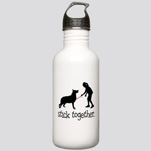German Shepherd Dog Stainless Water Bottle 1.0L