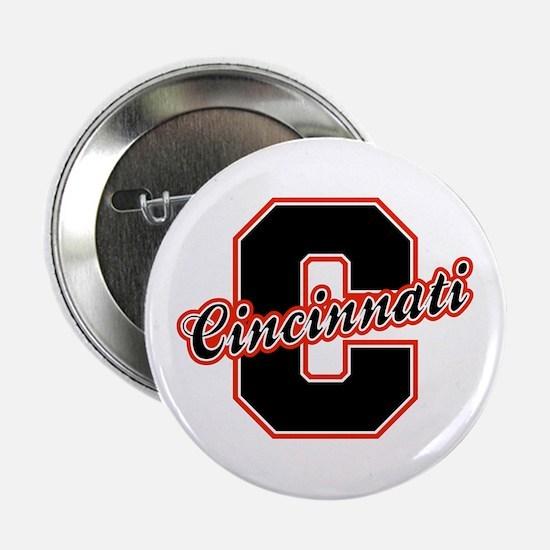 """Cincinnati Letter 2.25"""" Button"""