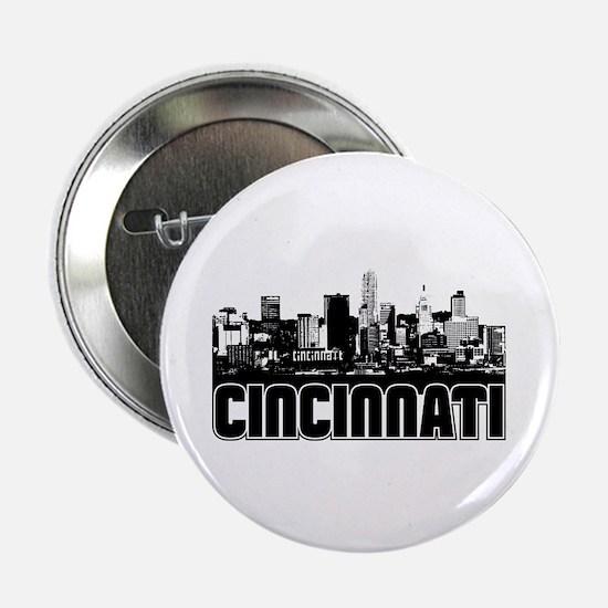 """Cincinnati Skyline 2.25"""" Button"""