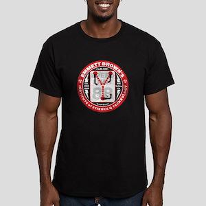 Emmett Brown Institute of Sci Men's Fitted T-Shirt