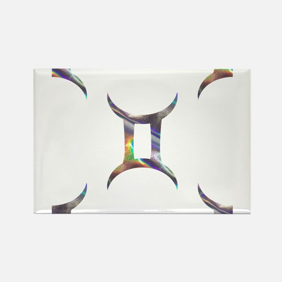 hologram gemini Magnets