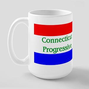 Connecticut Progressive Large Mug