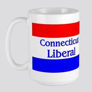 Connecticut Liberal Large Mug