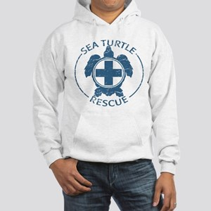 Sea Turtle Rescue Hooded Sweatshirt