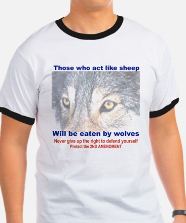 THOSE WHO ACT LIKE SHEEP....png T-Shirt