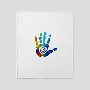 Massage Hand Throw Blanket